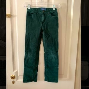Old Navy Green Corduroy Pants - Unisex Size 8